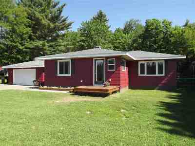Negaunee Single Family Home Pending w/Contingency: 3388 M35