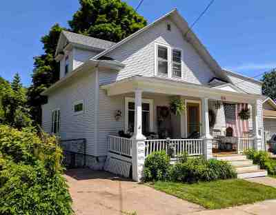 Marquette Single Family Home Pending w/Contingency: 336 Alger St