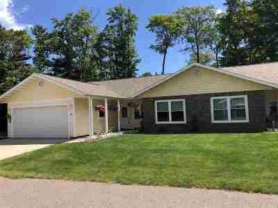 Marquette Single Family Home Price Change: 119 Forest Ridge Dr #18