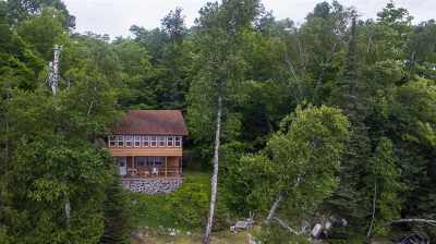 Michigamme Single Family Home For Sale: 25377 Campsite Dr
