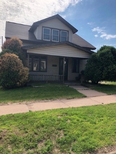 Negaunee Single Family Home Pending w/Contingency: 413 S Silver St