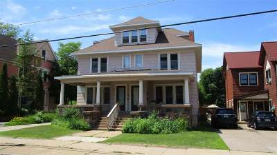 Marquette Multi Family Home Pending w/Contingency: 421 N Front St
