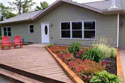 Ishpeming Single Family Home For Sale: 2010 N Greenwood Lake Dr #Unit 2