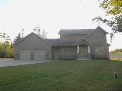 Ishpeming Single Family Home New: 973 Goldmine Creek Dr