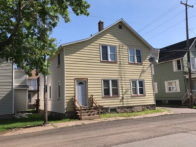Ishpeming Multi Family Home Pending w/Contingency: 409 Cleveland