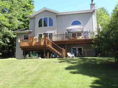 Michigamme Single Family Home For Sale: 25359 Branch Rd