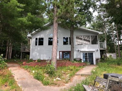 Munising Single Family Home For Sale: E8911 Lost Lake Rd