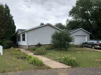 Ishpeming Single Family Home Pending w/Contingency: 777 Park