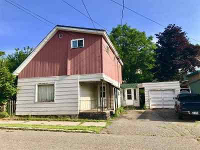 Ishpeming Single Family Home For Sale: 313 E North St