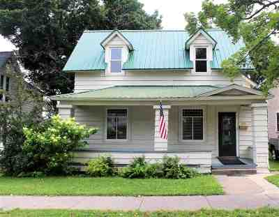 Negaunee Single Family Home Pending w/Contingency: 120 E Main
