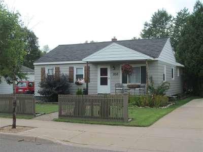 Gwinn Single Family Home Pending w/Contingency: 153 N Pine