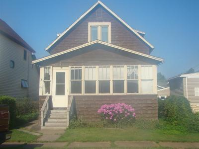 Ishpeming Single Family Home Pending w/Contingency: 851 N Pine St