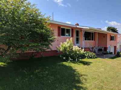 Ishpeming Single Family Home For Sale: 600 Duncan
