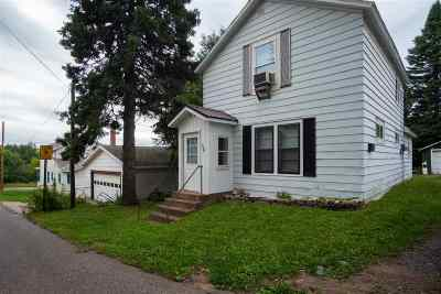 Ishpeming Single Family Home Pending w/Contingency: 310 Excelsior St