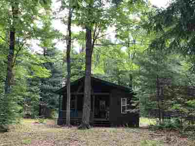 Munising Single Family Home For Sale: N2854 Toms Rd