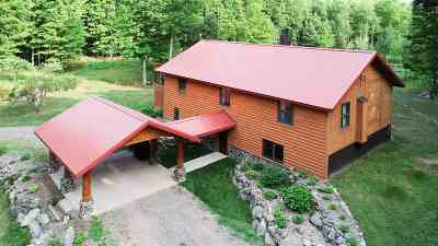 Marquette Single Family Home Pending w/Contingency: 309 Eagles Nest Rd