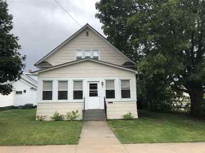 Negaunee Single Family Home Pending w/Contingency: 404 E Lincoln St