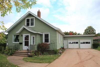 Ishpeming Single Family Home Price Change: 563 Duncan