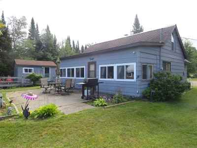 Ishpeming Single Family Home For Sale: 1008 S Helen Lake Rd