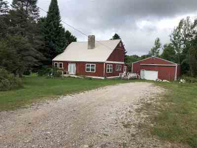 Munising Single Family Home For Sale: E9870 Negilski Rd