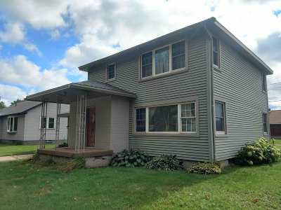 Negaunee Single Family Home Price Change: 408 Muskoday St