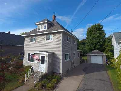 Marquette Single Family Home Pending w/Contingency: 422 Fisher St