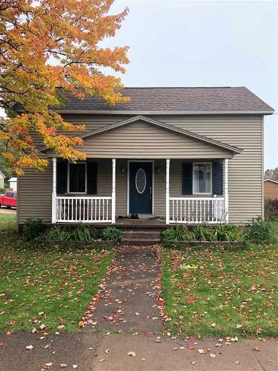 Negaunee Single Family Home Pending w/Contingency: 505 Baldwin Ave