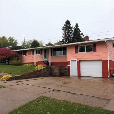 Ishpeming Single Family Home Pending w/Contingency: 600 Duncan