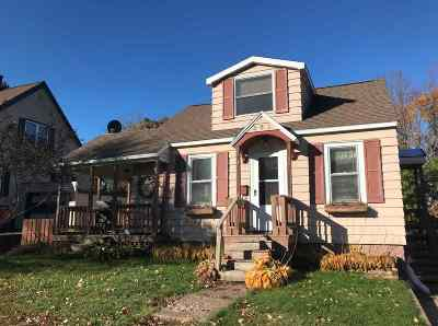 Ishpeming Single Family Home For Sale: 841 N Main St