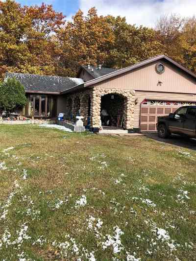 Negaunee Single Family Home Pending w/Contingency: 161 Sunset Dr