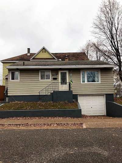 Negaunee Single Family Home Pending w/Contingency: 501 Water