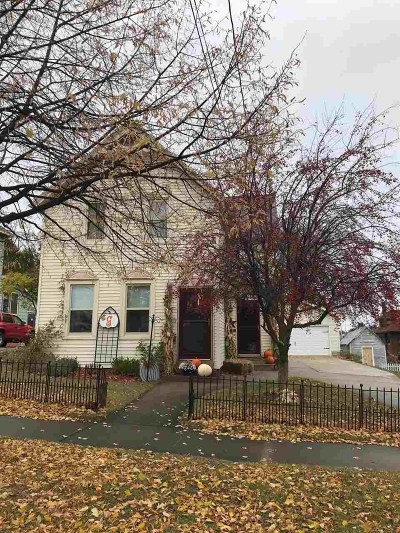 Marquette Single Family Home Pending w/Contingency: 328 Rock St