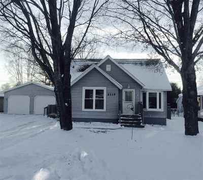 Ishpeming Single Family Home Pending w/Contingency: 2115 Deer Lake Ave
