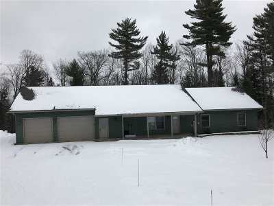 Marquette Single Family Home Pending w/Contingency: 160 Overlook Dr