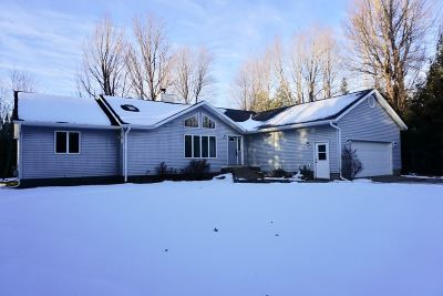 Marquette Single Family Home Pending w/Contingency: 165 Sandy Ln