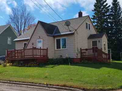 Ishpeming Single Family Home For Sale: 603 Washington St