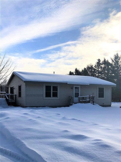 Negaunee Single Family Home For Sale: 12 Co Rd Mj