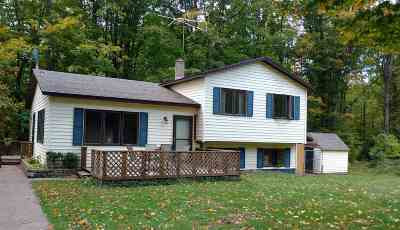 Marquette MI Single Family Home Pending w/Contingency: $159,000