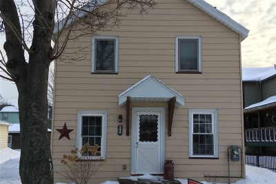 Marquette MI Single Family Home Pending w/Contingency: $135,900