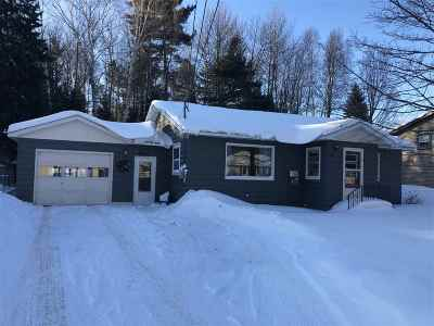 Marquette MI Single Family Home Pending w/Contingency: $170,000
