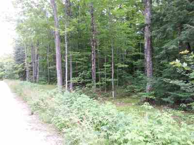 Munising Residential Lots & Land Pending w/Contingency: 16 Mile Lake Rd./Maple Grove Rd.