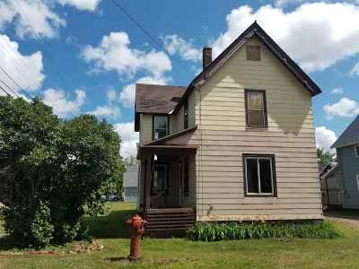 Negaunee Single Family Home For Sale: 101 Alice St