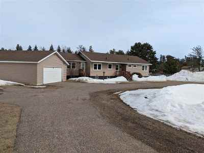 Marquette Single Family Home For Sale: 1431 Highway M28