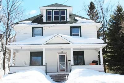Negaunee Single Family Home New: 126 E Lincoln St