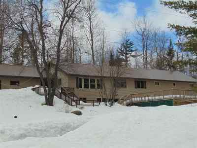Negaunee Single Family Home Pending w/Contingency: 302 North Rd