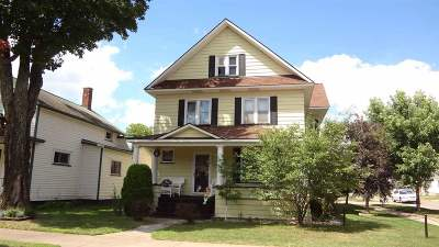 Negaunee Single Family Home Pending w/Contingency: 225 E Main St