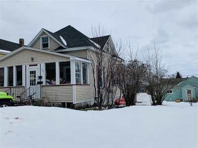 Munising Single Family Home For Sale: 124 W Jewell St