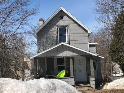Negaunee Single Family Home Pending w/Contingency: 547 Lake St