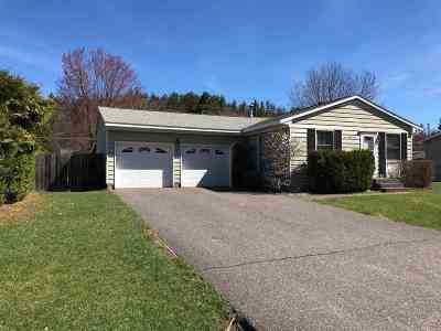 Negaunee Single Family Home Price Change: 121 Woodland Dr