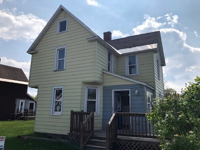 Negaunee Single Family Home Price Change: 104 Houghton St
